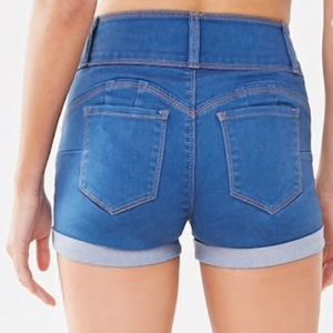Forever 21 jean shorts size small 5 pocket